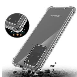 Samsung Galaxy S20 Ultra - Skyddsskal Transparent/Genomskinlig