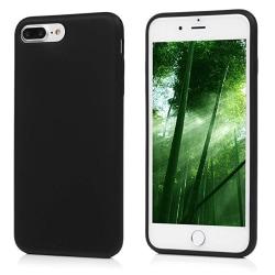 Silikonskal - iPhone 8 Plus Svart