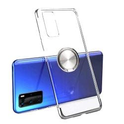 Smidigt Skal med Ringhållare - Huawei P40 Pro Silver