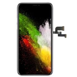 Soft OLED LCD Skärm & Pekskärm Digitizer AAA+++ iPhone X Svart