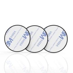 Universal Metallplatta för Magnethållare (32mm) Svart