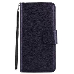 Huawei Y6 2018 - Elegant Praktiskt Plånboksfodral (NKOBEE) Svart