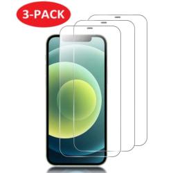 3-Pack - iPhone 12/12 Pro - Extra Stark Härdat Glas Skärmskydd iPhone 12/12 Pro