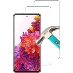2-Pack - Samsung Galaxy S20 FE  Härdat Glas Skärmskydd