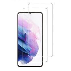 2-Pack - Samsung Galaxy S21 Härdat Glas Skärmskydd Samsung Galaxy S21