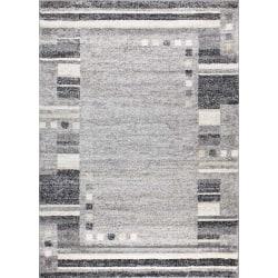 D-sign Matta Milano Collection Olbia Ljusgrå/Mörkgrå Black 120x170