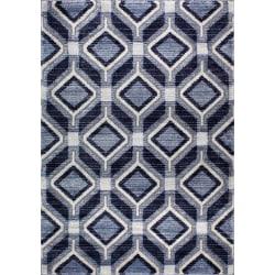 D-sign Matta New Fashion Lecce Mörkblå/Marin Blue 80x120