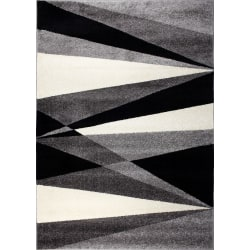 D-sign Matta Rainbow Van Mörkgrå/Ljusgrå Black 120x170