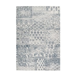 Clausri Matta Lyw Mörkblå/Elfenben Blue 160x230