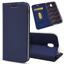 Business Plånboksfodral för Samsung Galaxy J3 2017 - Blå