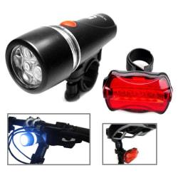Cykellampa LED Fram/Bak