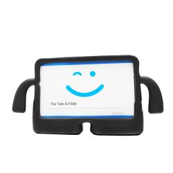 """EVA Shock Proof 3D Skal för Galaxy Tab A 10.1"""" 2016 - Svart"""