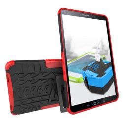 Häftigt skyddsfodral för Samsung Galaxy Tab A - röd