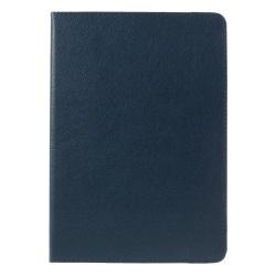 """Litchi Skin Fodral med Stativ för iPad Pro 9.7"""" - Blå"""