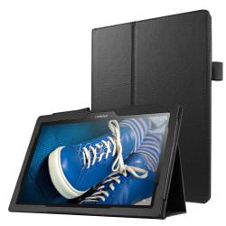 Litchi smart fodral för Lenovo Tab 2 A10-30 - svart