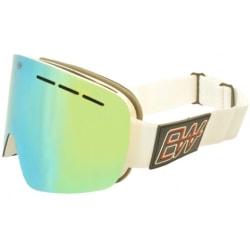 EW Wrangell Skidglasögon Vit-grön