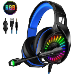 Gaming Headset för PS4, PC Xbox One Gaming Headphones