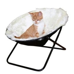 Sharon Lounger för katter 50 cm diameter vit