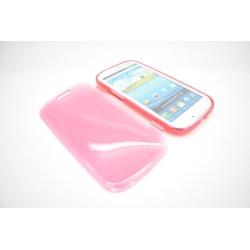 Samsung Galaxy S3 silikon fodral röd Röd