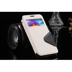 Samsung Galaxy S4 plånbok S-View fodral vit Vit