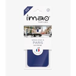 Paris doftkort  / 3-pack Mörk blå