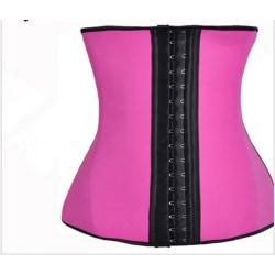 Sports latex midje tränare korsett shapewear (S)