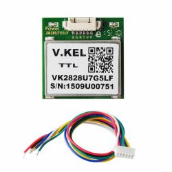 Geekcreit 1-5Hz VK2828U7G5LF TTL Ublox GPS-modul med antenn