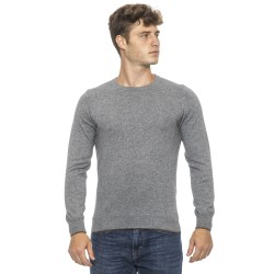 Pullover grey Conte of Florence Man
