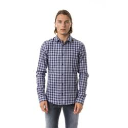 Shirt Blue Byblos Man
