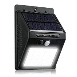 Solcellslampa med rörelsesensor 2-Pack