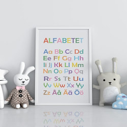 Poster Print Alfabetet