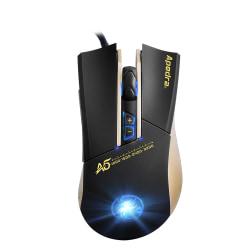 Apedra iMICE A5  USB 7 knappar 3200 DPI  Svart