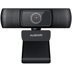 AUSDOM AF640 1080P Webcam Autofokus  Svart