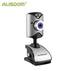AUSDOM AW116 SD-webcam Silver
