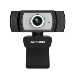 AUSDOM AW33 1080P Streaming Webcam Silver