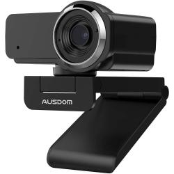 AUSDOM AW635 1080P Webcam Svart