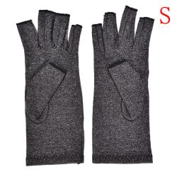 1 par artritkompressionshandskar Handledsstöd för handleden R Black S