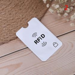 10st RFID kredit ID-korthållare blockerande skyddsfodralskydd 2