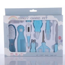 10st / Set Baby Nail Trimmer Healthcare Kit Portable Newborn Bab Blue