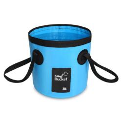 12L 20L Vattentät vattenpåse fällbar hinkförvaring Fiskekamera Blue 20L