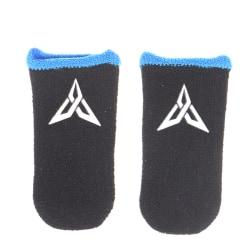 1 par svettbeständig pekskärm med fingertopp i mobilspel Blue