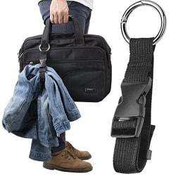 1Pc Stöldskydd Bagagebandhållare Gripare Lägg till väska Handväska Cli