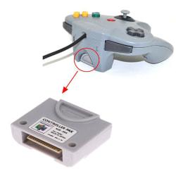 1 st minneskort nintendo 64 controller n64 controller pack expan One Size