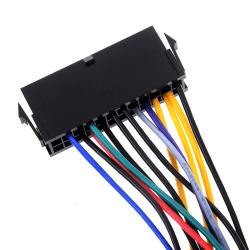 24Pin 24P till 14Pin ATX nätadapterkabel för leno