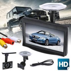 5 tums HD-skärmskärm för bakåtriktad backup för bil Parkin