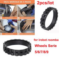 däck för irobot roomba-hjul serie 500, 600,700, 800 och 900