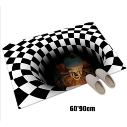 Clownfälla Visual Carpet Living Room Floor Mat 3D Mattor Clow C