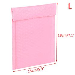 20st bubble mailers poly bubble mailer självförseglad vadderat kuvert Pink Large