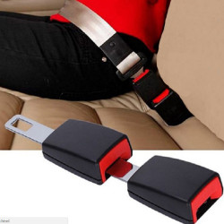 säkerhetsbältesförlängare säkerhetsbälte skydd säkerhetsbälte vaddering förlängning Black