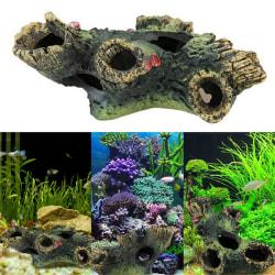 Akvarium Dekorationsstam Bole Drivved Undervatten för fisk Ta
